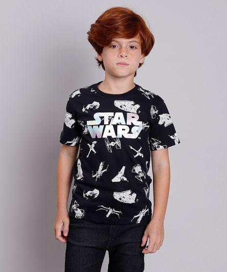 Camiseta-Infantil-Star-Wars-Estampada-Manga-Curta-Preta-9838006-Preto_1