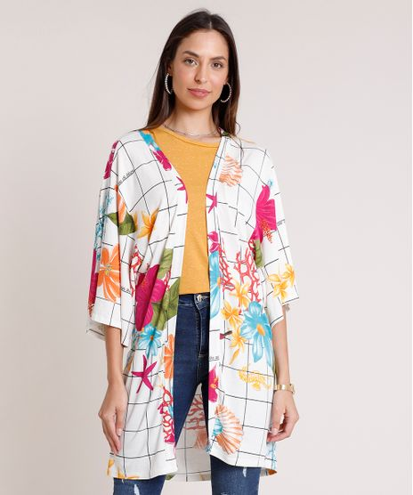 Kimono-Feminino-Estampado-Fundo-do-Mar-Manga-3-4-Off-White-9892710-Off_White_1