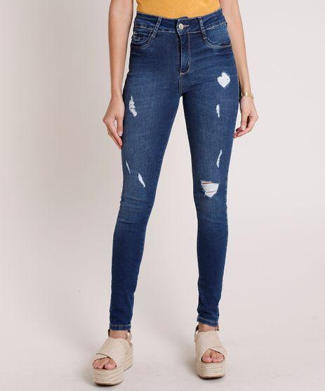 Calca-Jeans-Sawary-Super-Skinny-Push-Up-Cintura-Alta-Destroyed-Azul-Escuro-9896004-Azul_Escuro_1
