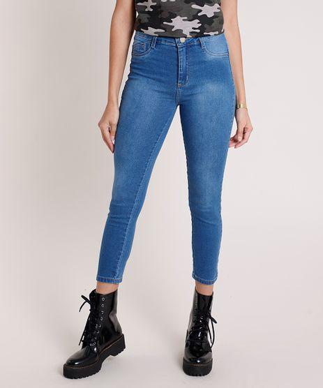 Calca-Jeans-Feminina-Sawary-Cropped-Push-Up-Cintura-Alta-Azul-Medio-9876741-Azul_Medio_1