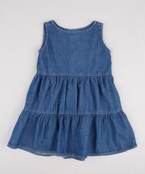 Vestido-Jeans-Infantil-com-Babado-Sem-Manga-Azul-Escuro-9892645-Azul_Escuro_1