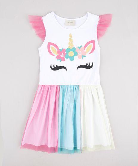 Vestido-Infantil-Unicornio-com-Tule-Sem-Manga-Branco-9877414-Branco_1
