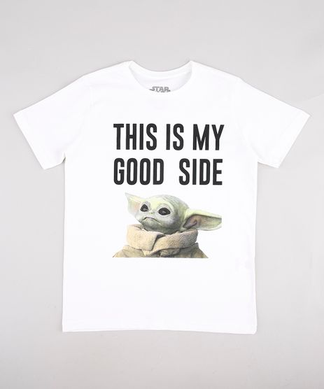 Camiseta-Infantil-Baby-Yoda--Good-Side--Manga-Curta-Off-White-9928181-Off_White_1