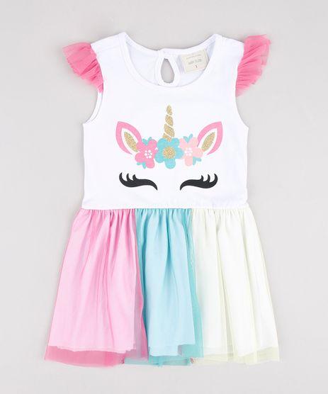 Vestido-Infantil-Unicornio-com-Tule-Sem-Manga-Branco-9877335-Branco_1