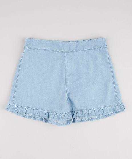 Short-Jeans-Infantil-com-Babado-Azul-Claro-9892640-Azul_Claro_1