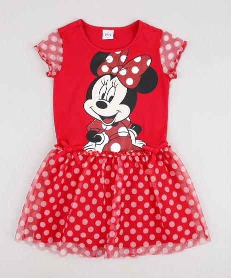 Vestido-Infantil-Carnaval-Minnie-com-Tule-e-Laco-Manga-Curta--Vermelho-9877413-Vermelho_1