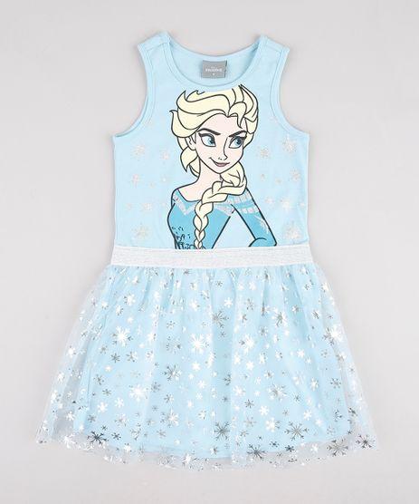 Vestido-Infantil-Elsa-Frozen-com-Brilho-e-Tule-Sem-Manga-Azul-Claro-9913276-Azul_Claro_1