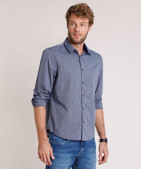 Camisa-Social-Masculina-Comfort-Fit-Listrada-Manga-Longa-Azul-9645925-Azul_1