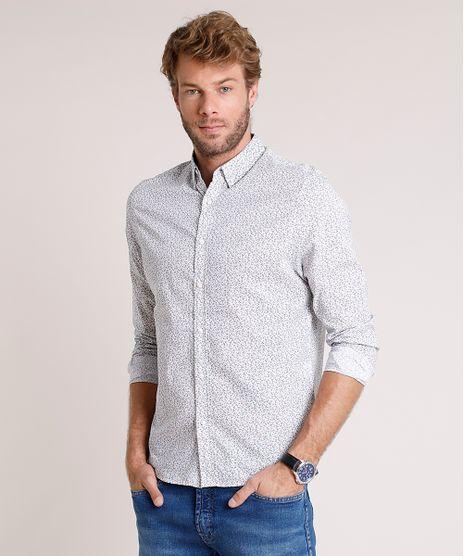 Camisa-Masculina-Comfort-Fit-Estampada-Floral-Manga-Longa-Branca-9523407-Branco_1