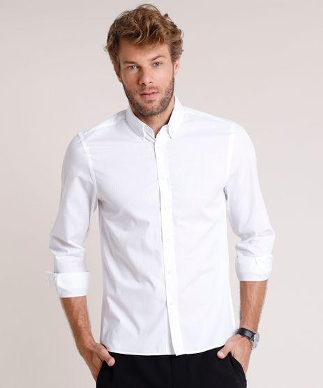 Camisa-Social-Masculina-Comfort-Fit-Texturizada-Manga-Longa-Off-White-9515021-Off_White_1