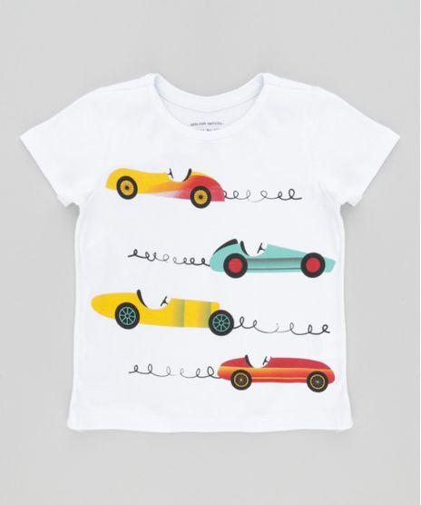 Camiseta-com-Estampa-de-Carros-Branca-8612561-Branco 1 353a5987b920f