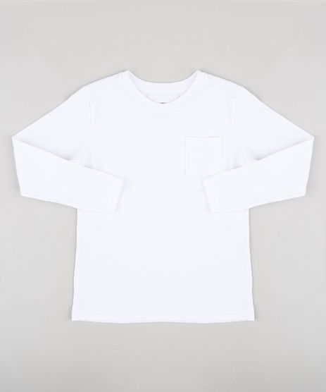 Camiseta-Infantil-Basica-com-Bolso-Manga-Longa-Branco-9933739-Branco_1