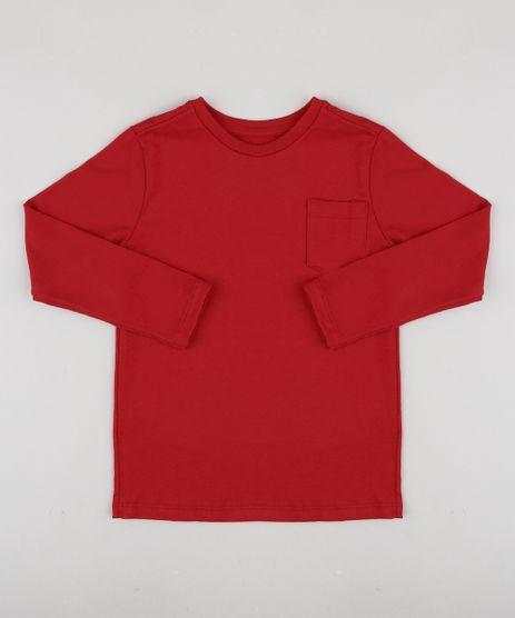 Camiseta-Infantil-Basica-com-Bolso-Manga-Longa-Vermelho-9933739-Vermelho_1