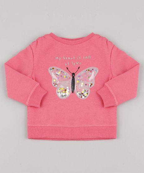 Blusao-Infantil-em-Moletom-Borboleta-com-Paete-Rosa-Escuro-9805410-Rosa_Escuro_1