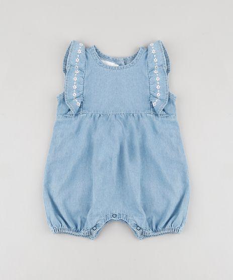 Macaquinho-Jeans-Infantil-com-Babado-e-Bordado--Sem-Manga-Azul-Medio-9822036-Azul_Medio_1