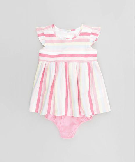 Vestido-Listrado---Calcinha-em-Algodao---Sustentavel-Off-White-8470639-Off_White_1