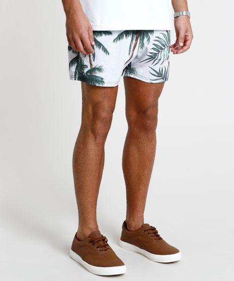 Short-Masculino-Estampado-Tropical-com-Bolso-Bege-Claro-9863750-Bege_Claro_1