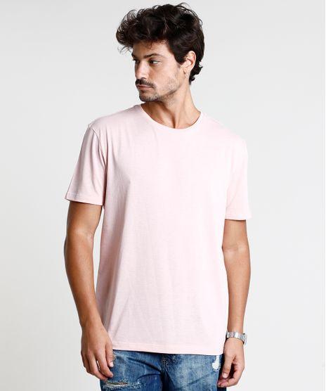 Camiseta-Masculina-Basica-Manga-Curta-Gola-Careca-Rosa-Claro-9602030-Rosa_Claro_1