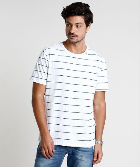 Camiseta-Masculino-Basica-Listrada-Manga-Curta-Gola-Careca-Branca-9874555-Branco_1
