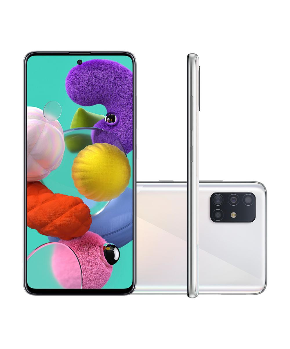 Smartphone Samsung A515F Galaxy A51 128GB Branco