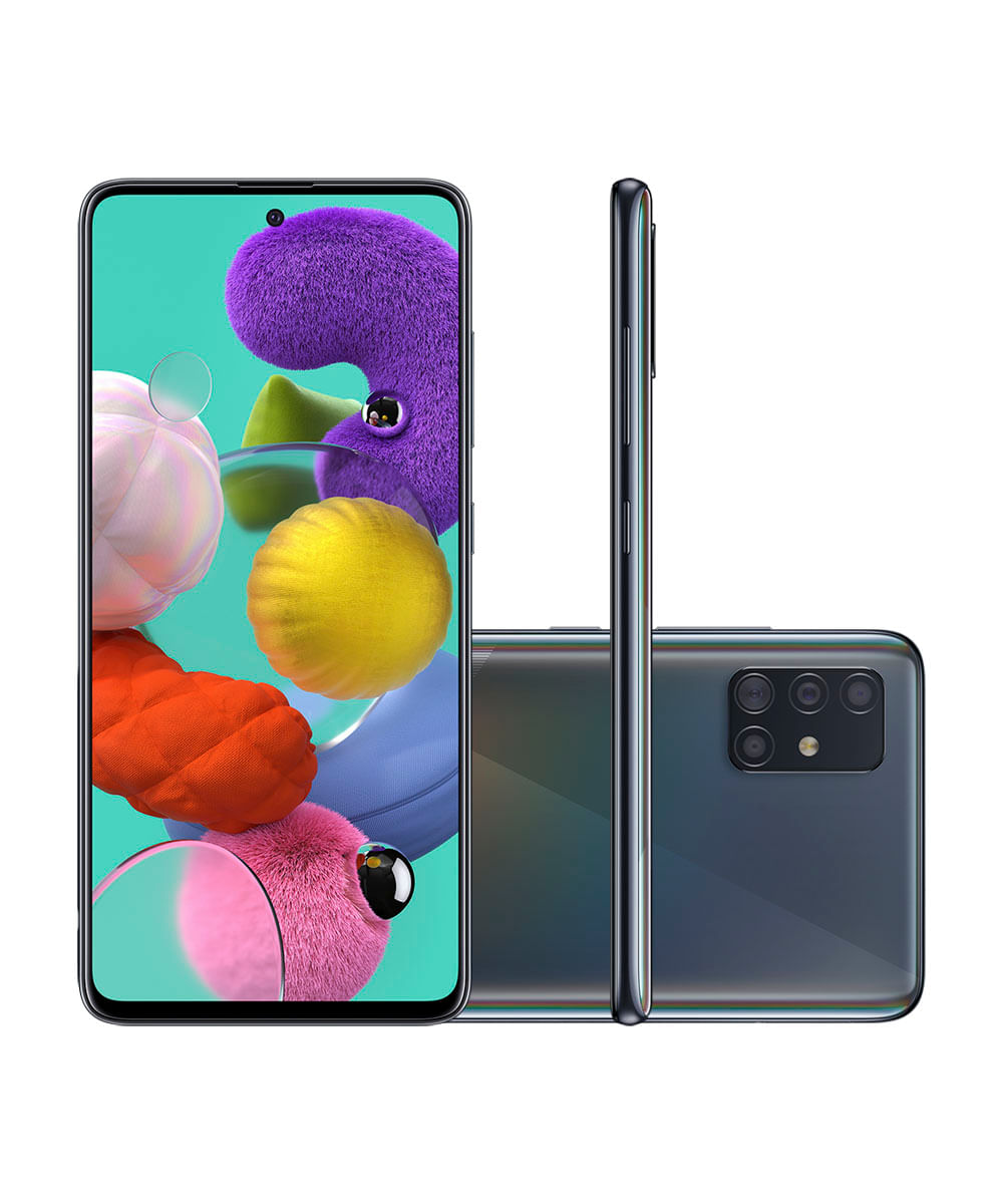 Smartphone Samsung A515F Galaxy A51 128GB Preto