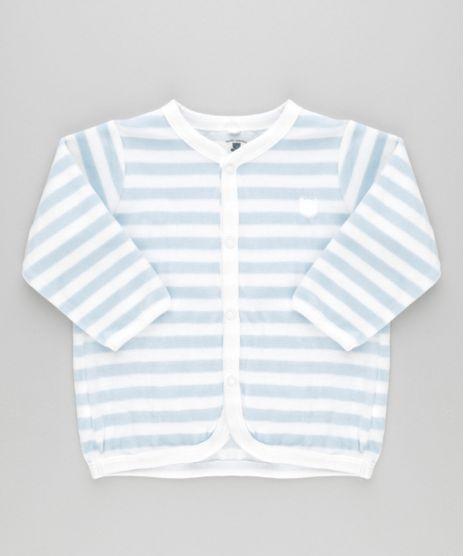 Cardigan-Listrado-em-Plush-de-Algodao---Sustentavel-Off-White-8479664-Off_White_1