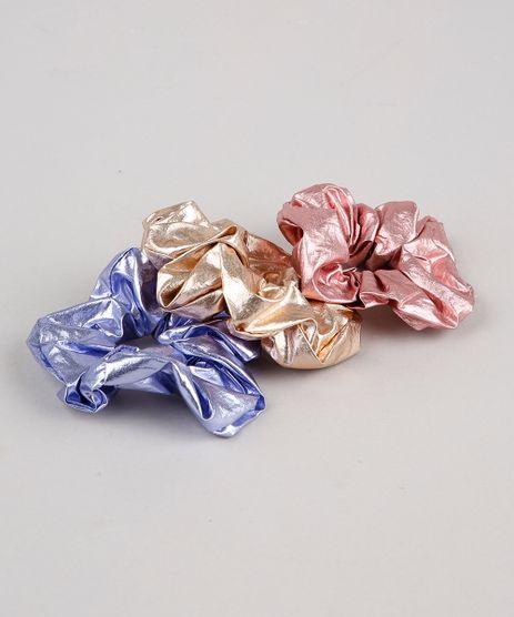 Kit-de-3-Elasticos-de-Cabelo-Carnaval-Scrunchie-Metalizados--Multicor-9849980-Multicor_1