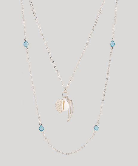 Kit-de-2-Colares-Femininos-com-Pingente-e-Pedras-Zirconias-Dourado-9883529-Dourado_1