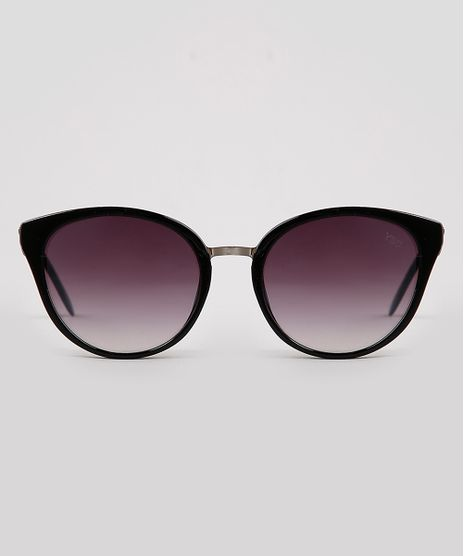 Oculos-de-Sol-Redondo-Feminino-Yessica-Preto-9932813-Preto_1