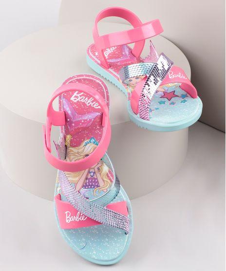 Sandalia-Infantil-Barbie-Iridescente-com-Tiras-Rosa-9912233-Rosa_1