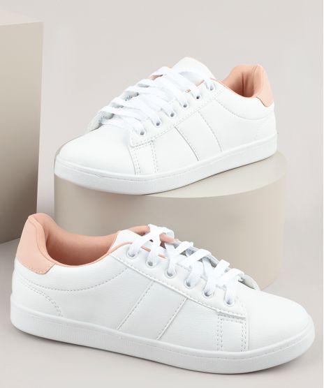 Tenis-Feminino-Oneself-com-Recortes-Branco-9790821-Branco_1
