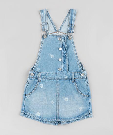 Jardineira-Short-Saia-Jeans-Infantil-Estampada-Floral-Azul-Medio-9892629-Azul_Medio_1