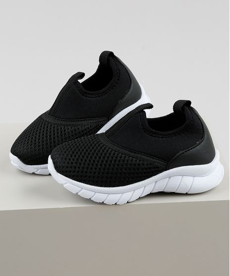 Tenis-Infantil-Baby-Club-Esportivo-Running-com-Recorte-Preto-9905908-Preto_1