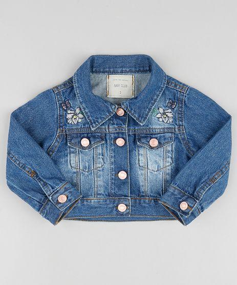 Jaqueta-Jeans-Infantil-Cropped-com-Bordado-Azul-Escuro-9894187-Azul_Escuro_1