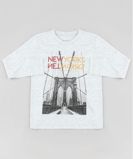 Camiseta-Infantil--New-Yorks--Manga-Longa--Cinza-Mescla-9883615-Cinza_Mescla_1