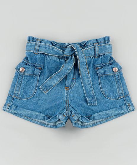 Short-Jeans-Infantil-Clochard-com-Faixa-para-Amarrar-Azul-Medio-9892625-Azul_Medio_1