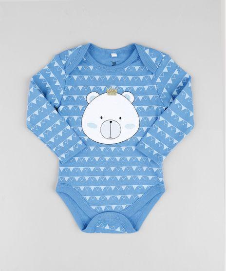 Body-Infantil-com-Patch-de-Urso-Estampado-Geometrico-Manga-Longa-Azul-9679738-Azul_1