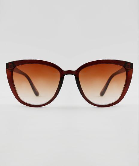 Oculos-de-Sol-Gatinho-Feminino-Yessica-Marrom-9942282-Marrom_1