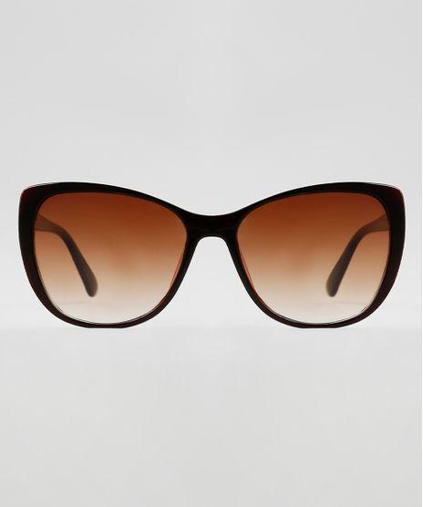 Oculos-de-Sol-Gatinho-Feminino-Yessica-Marrom-9942286-Marrom_1