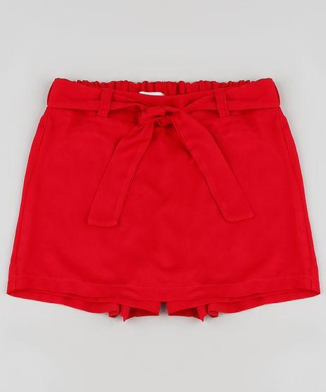 Short-Saia-Infantil-com-Faixa-para-Amarrar-Vermelho-9894635-Vermelho_1