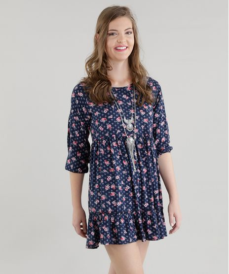 Vestido-Estampado-Floral-Azul-Marinho-8456555-Azul_Marinho_1