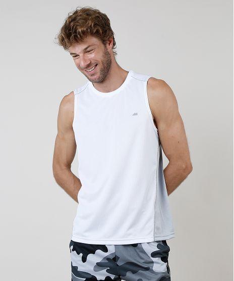 Regata-Masculina-Esportiva-Ace-com-Recorte-e-Respiro-Gola-Careca-Branca-9871091-Branco_1