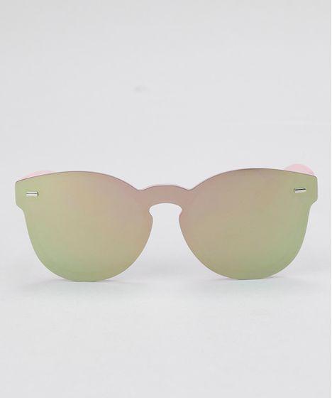 d7a4b4d49 Oculos-Redondo-Feminino-Oneself-Rosa-8657237-Rosa_1 ...
