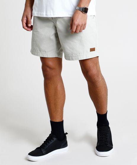 Short-Masculino-Relaxed-com-Bolsos-e-Cordao-Bege-9900887-Bege_1