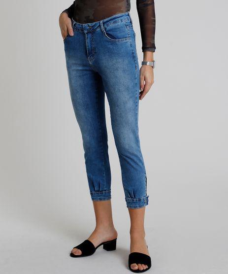 Calca-Feminina-Sawary-Jogger-Skinny-Cintura-Alta--Azul-Claro-9914201-Azul_Claro_1