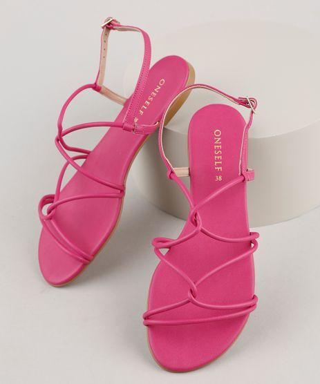 Rasteirinha-Feminina-Oneself-com-Tira-Trancada-Pink-9883161-Pink_1