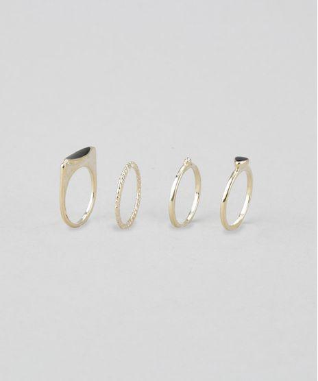 Kit-de-4-Aneis-Dourado-8624464-Dourado_1