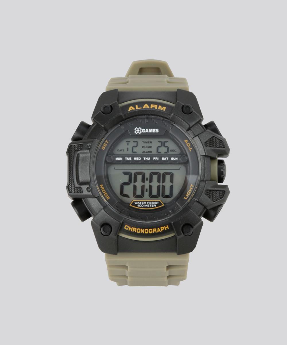 8bae74a29ba Relógio Digital X-Games Masculino - XMPPD398 Preto - cea