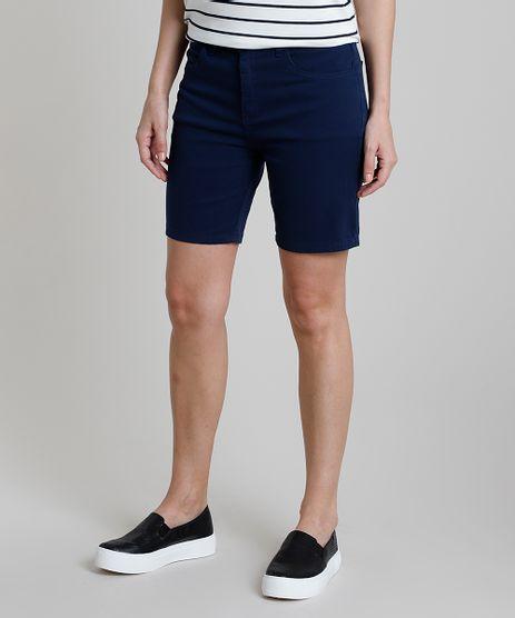 Bermuda-da-Sarja-Feminina-Ciclista-Cintura-Alta-Azul-Marinho-9889651-Azul_Marinho_1