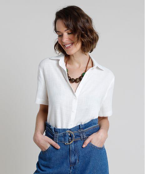 Camisa-Feminina-Ampla-Manga-Curta--Off-White-9914942-Off_White_1